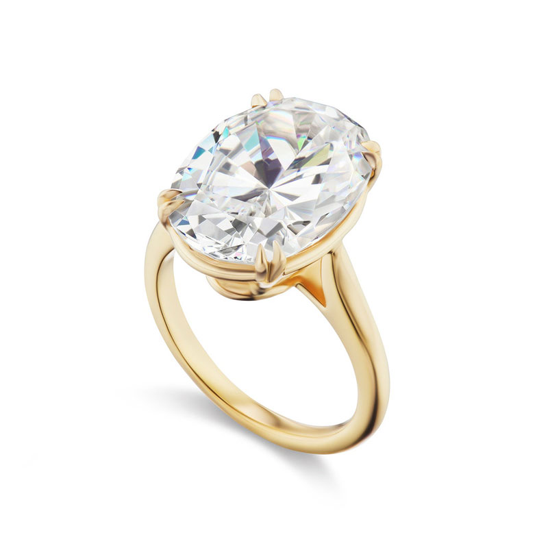 Oval engagement rings Briony Raymond