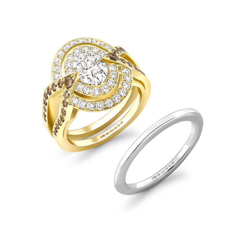 Oval engagement rings Hattie Rickards