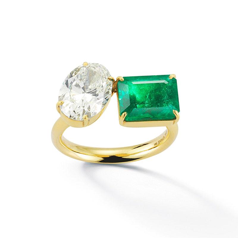 Oval engagement rings Jemma Wynne