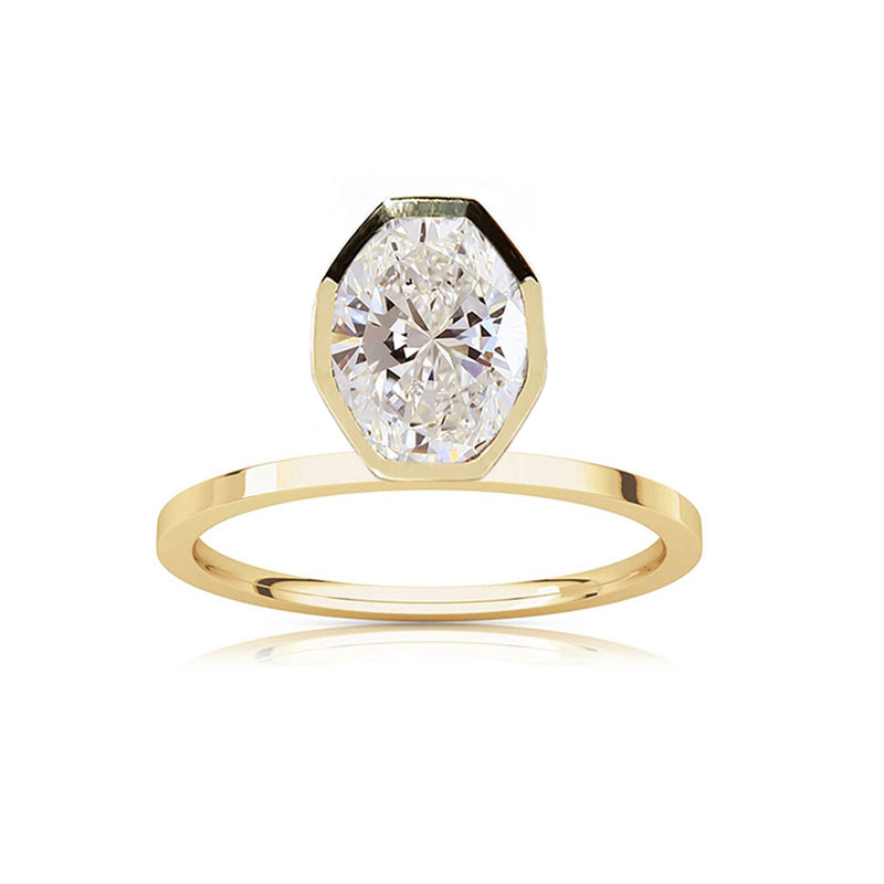 Oval engagement rings Katkim