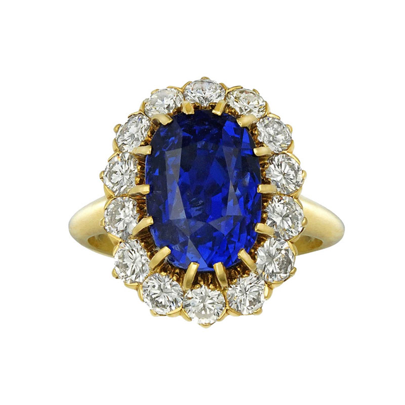 Oval engagement rings Omneque