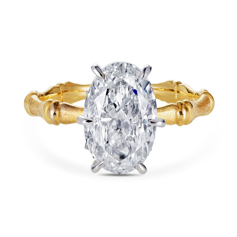 Oval engagement rings Thelma West