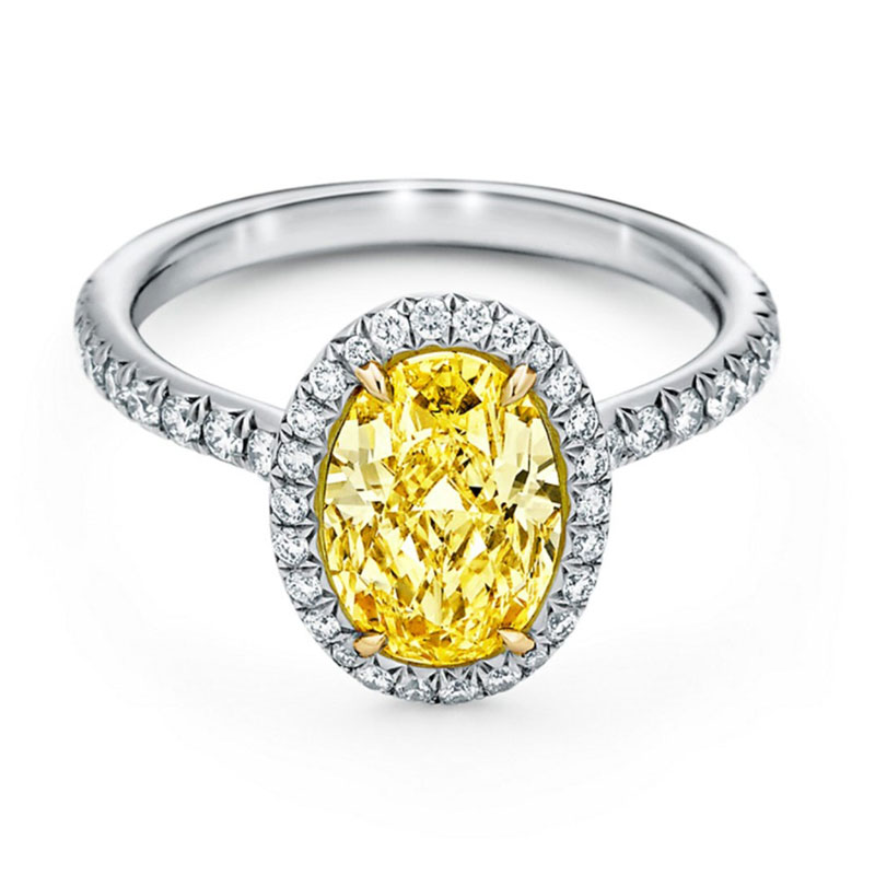 Oval engagement rings Tiffany