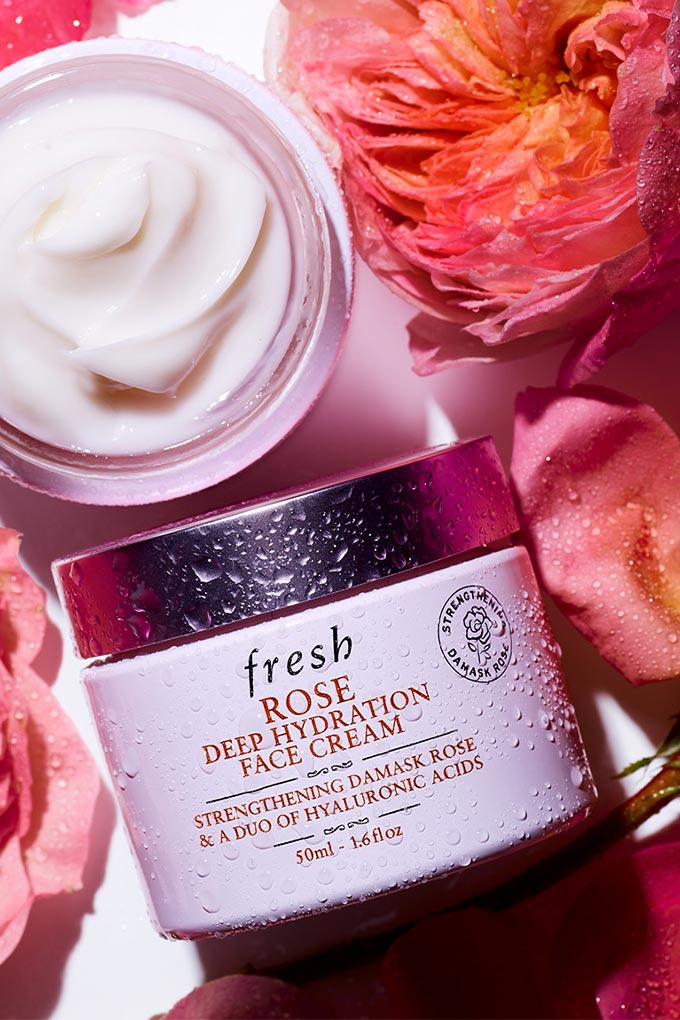 Vogue, Fresh Beauty, Rose Deep Hydration Face Cream