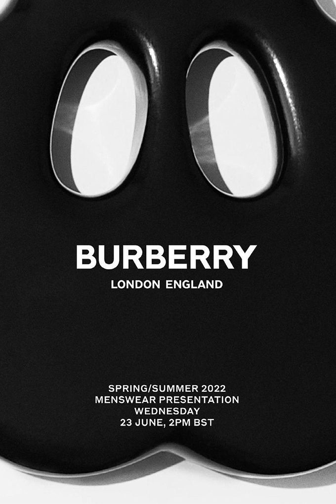 burberry ss22 menswear cover