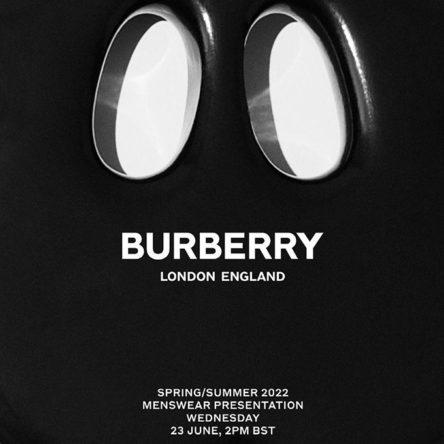 burberry ss22 menswear sq