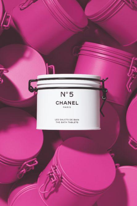 Vogue Singapore 2021 - Chanel FACTORY 5 COLLECTION - Nø5 THE BATH TABLETS
