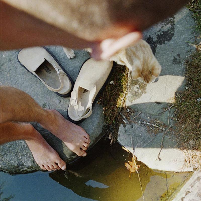 jil sander birkenstock closed shoe