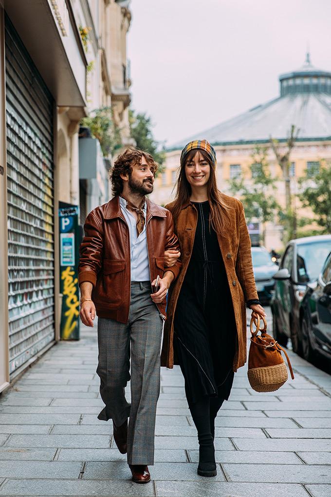 Paris Fashion Week Spring 2022 menswear shows street style