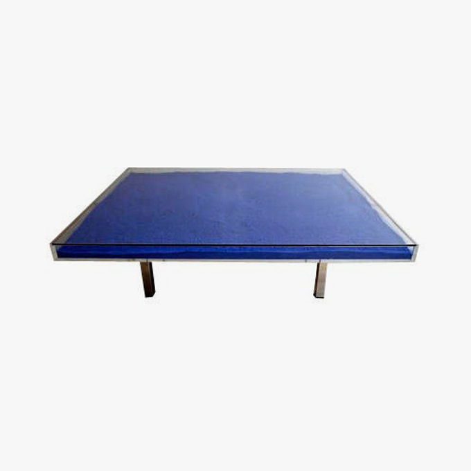 Table IKB by Yves Klein