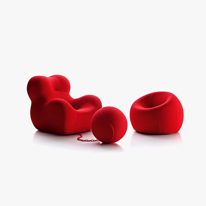 Up Armchair by Gaetano Pesce for B&B Italia