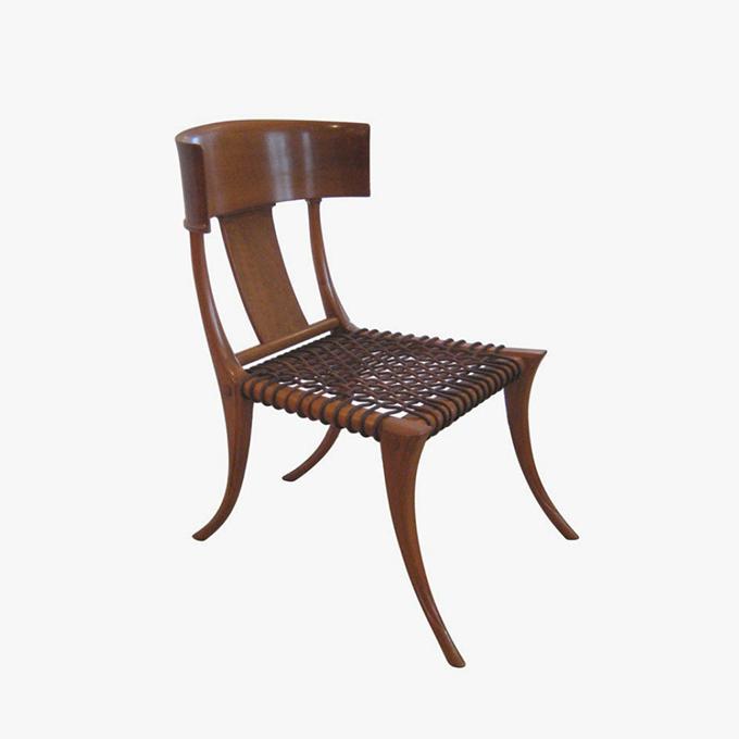 Klismos Chair by T.H. Robsjohn Gibbings for Saridis