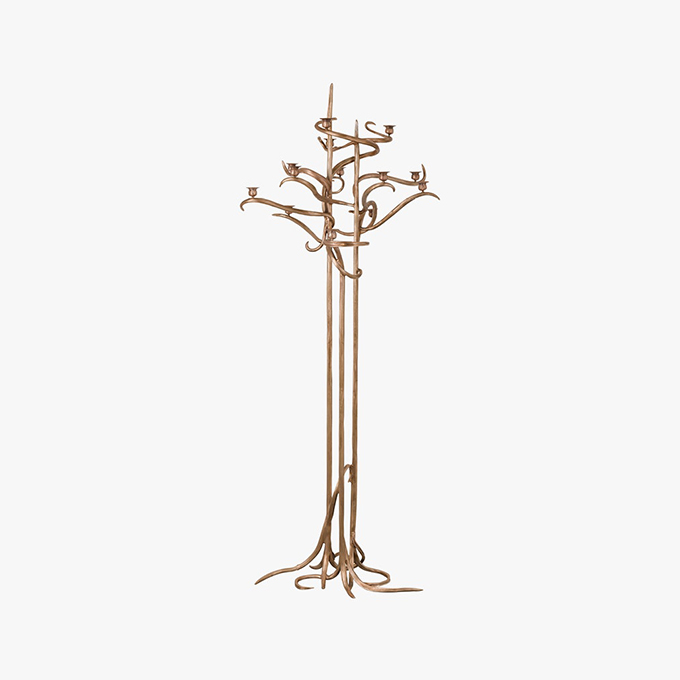 Torchere Without Leaves by Claude Lalanne
