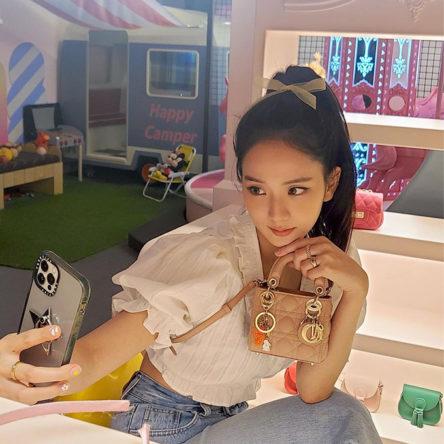 dior micro bag jisoo sq