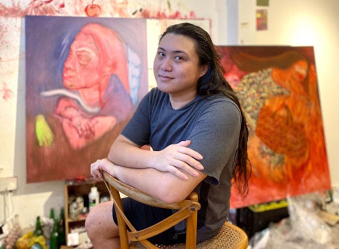 Transgender Singaporean artist Marla Bendini