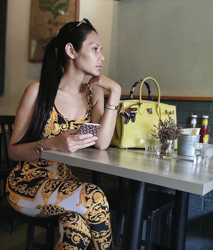 Transgender Singaporean model and beauty pageant queen Andrea Razali