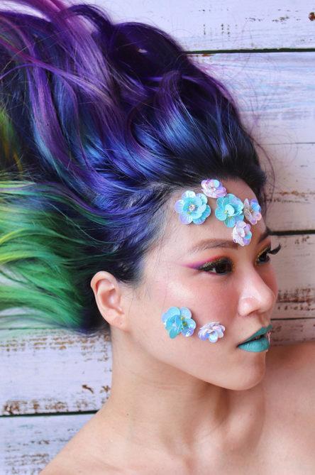 Beauty influencer Francesca Tanmizi / @workingwithmonolids