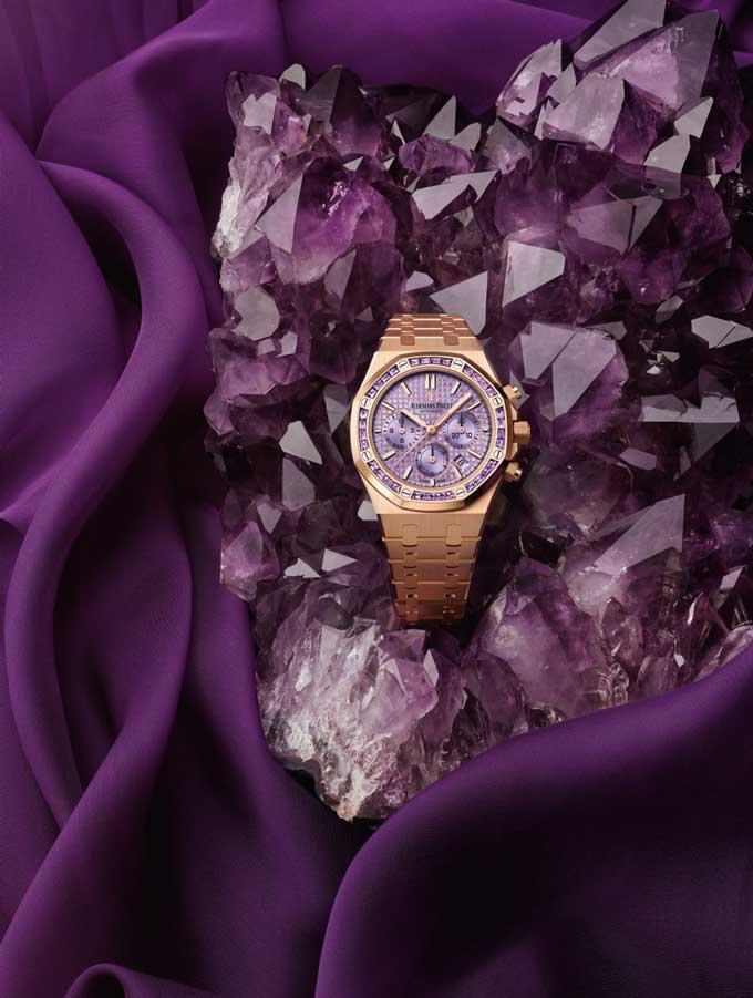 Audemars-piguet-harley-weir-amethyst-watch