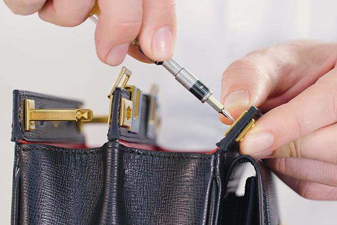 Valentino Garavani Rockstud Alcove double handle bag