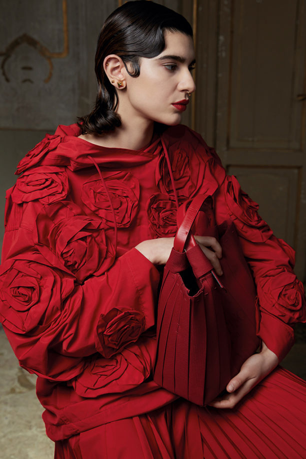 Valentino's Rose Blossom Caban