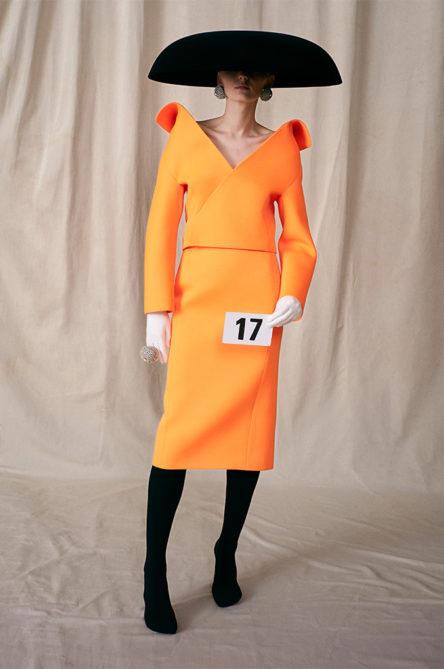 balenciaga haute couture aw21 look 17