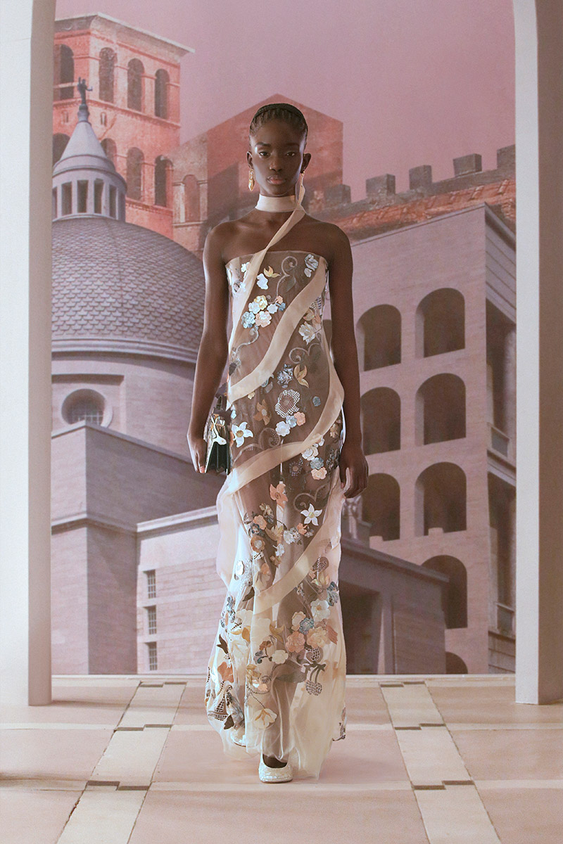 fendi haute couture aw21 look 2