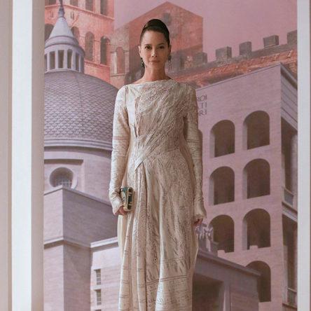 fendi haute couture aw21 look 17 sq