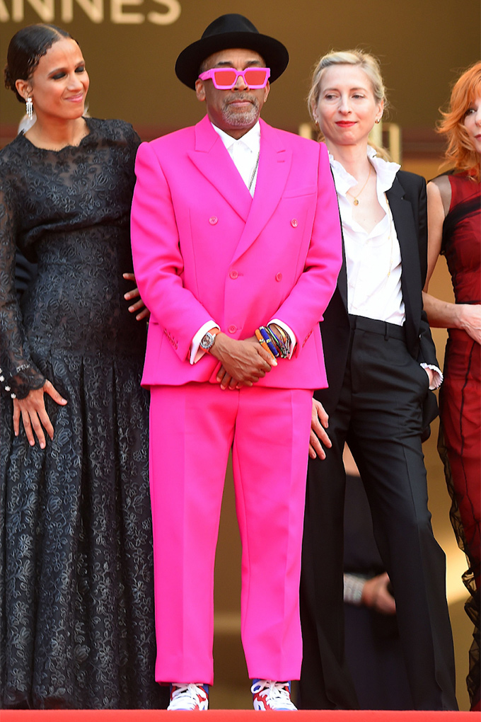 Spike Lee in Louis Vuitton at Cannes Film Festival 2021