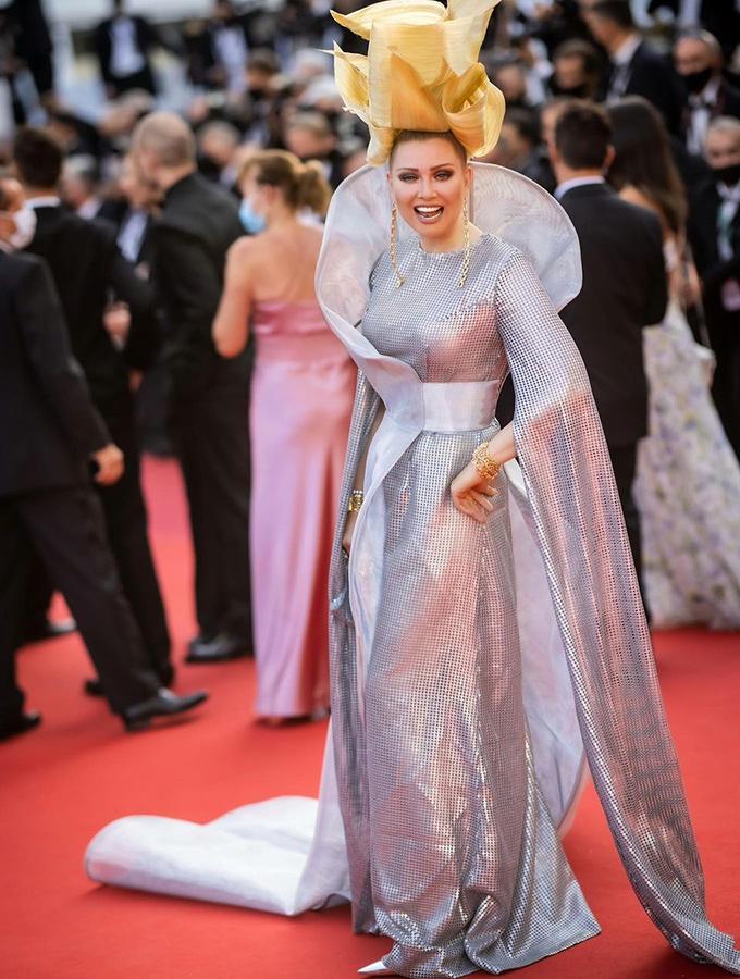 Elena Lenina in Nika Shaboshova at Cannes Film Festival 2021