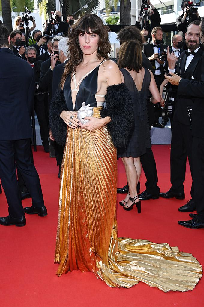 Lou Doillon in Gucci Aria at Cannes Film Festival 2021