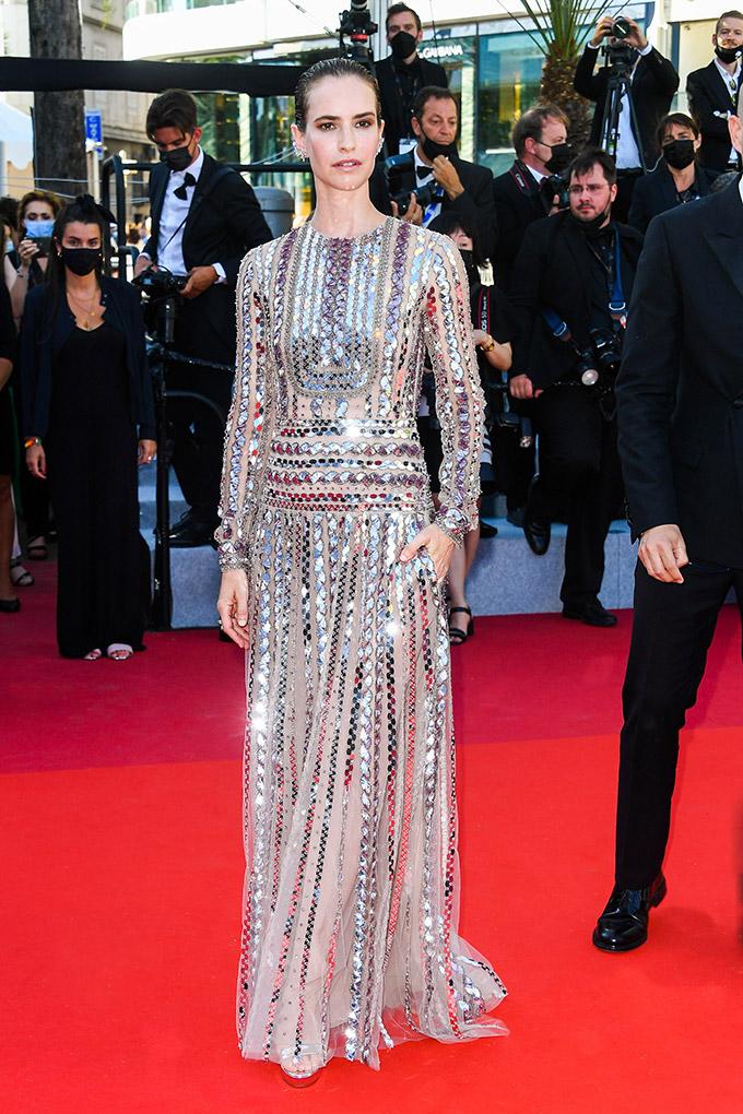 Naama Preis in Valentino at Cannes Film Festival 2021