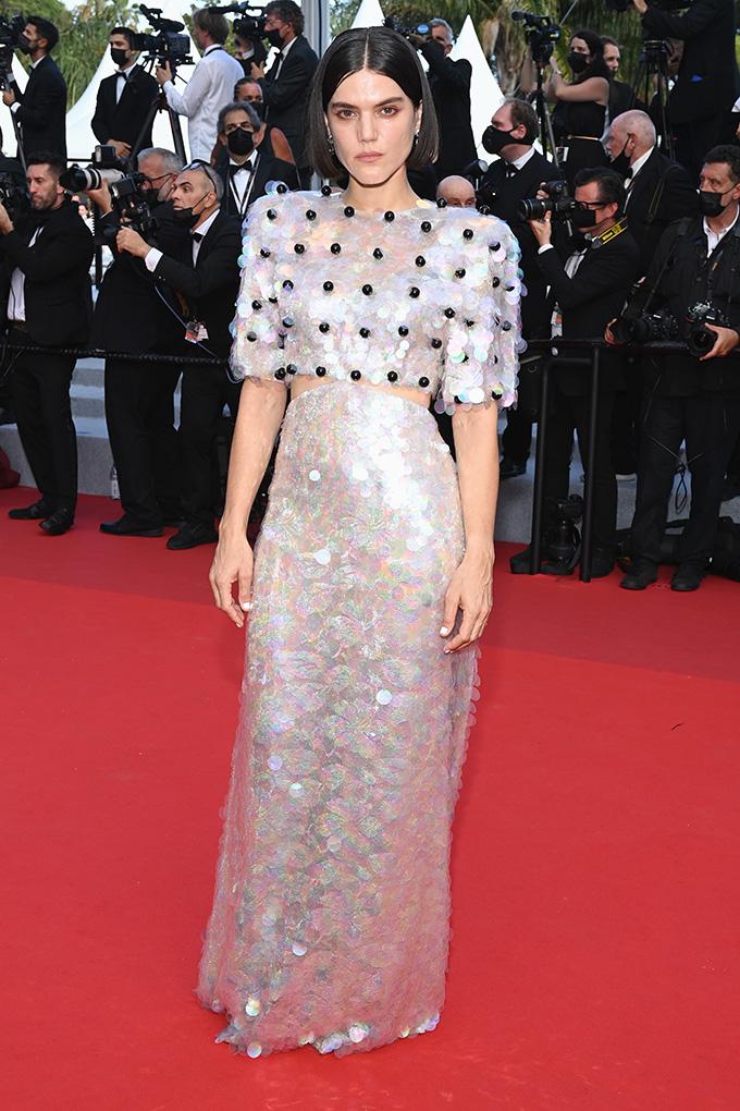 Soko in Gucci at Cannes Film Festival 2021