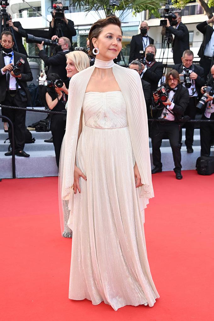 Maggie Gyllenhall in Celine at Cannes Film Festival 2021