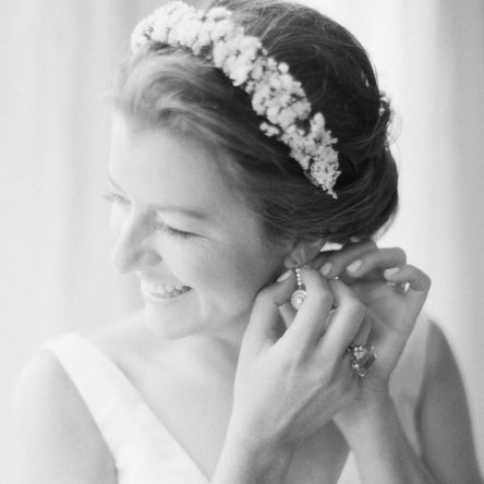 Bridal earrings square image