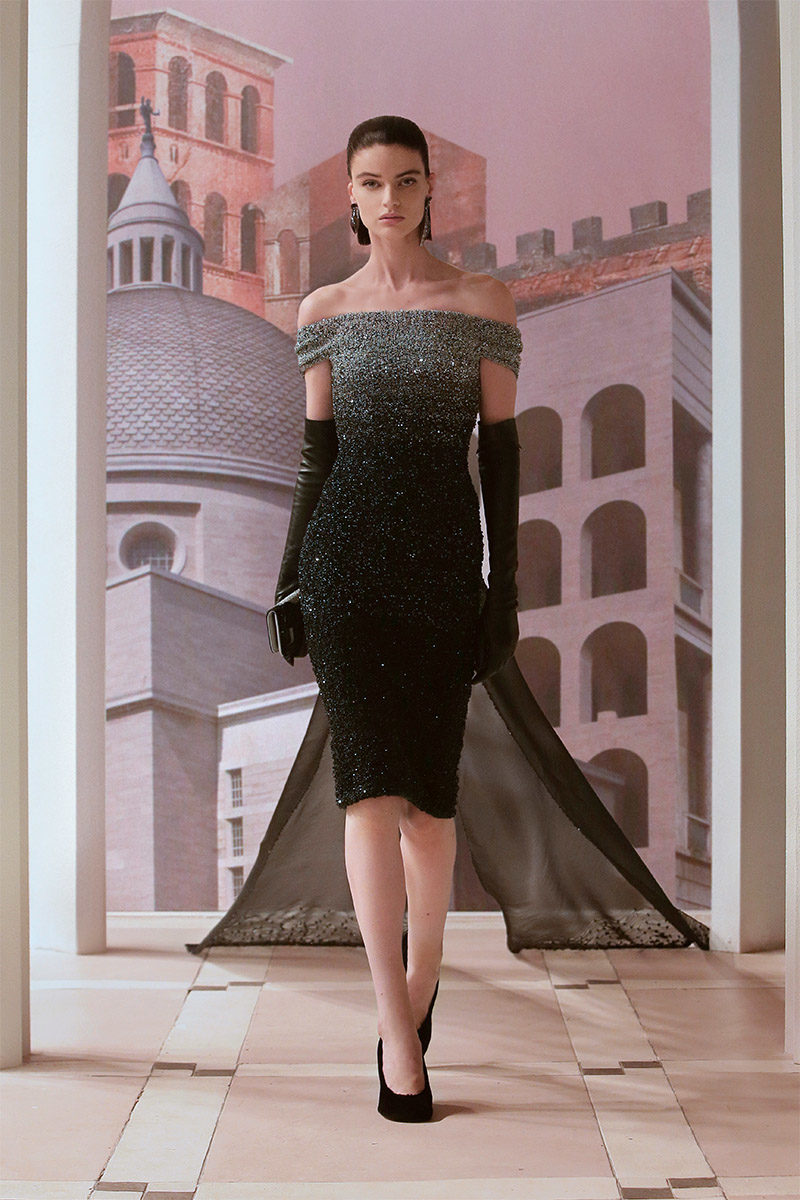 haute couture aw21 trends glamour fendi