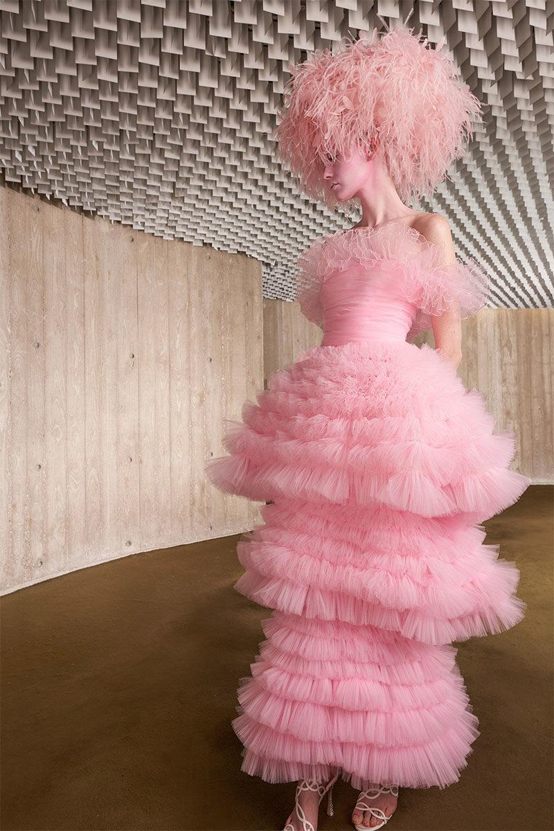 haute couture aw21 trends blush giambattista
