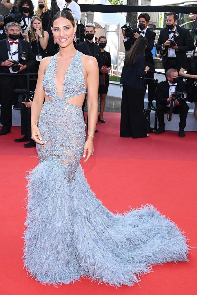 Beatrice Valli in Zuhair Murad at Cannes Film Festival 2021