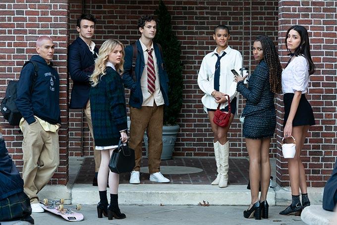 Main cast of Gossip Girl 2021 reboot