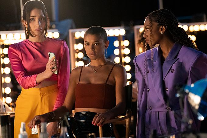 Luna La, Julien Calloway, and Monet de Hann Gossip Girl 2021 reboot