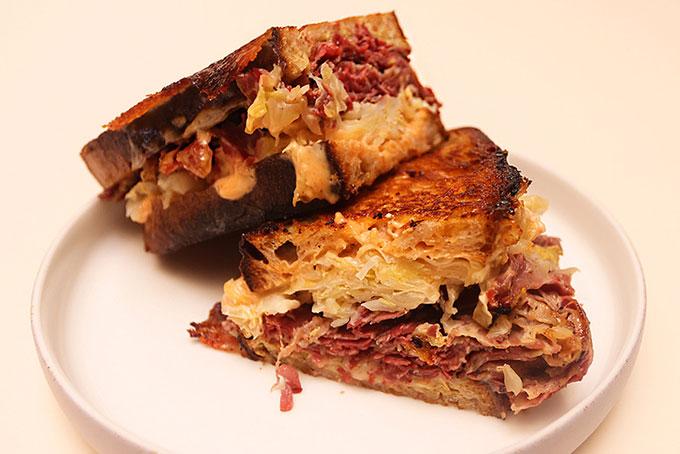 PBD Pastrami Sandwich