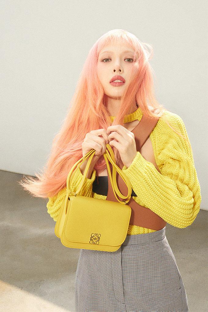 hyuna loewe yellow