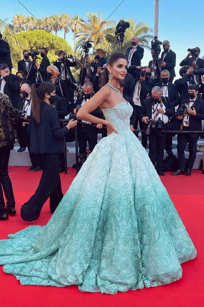 Mahlagha Jaberi in Eman Alajlan at Cannes Film Festival 2021