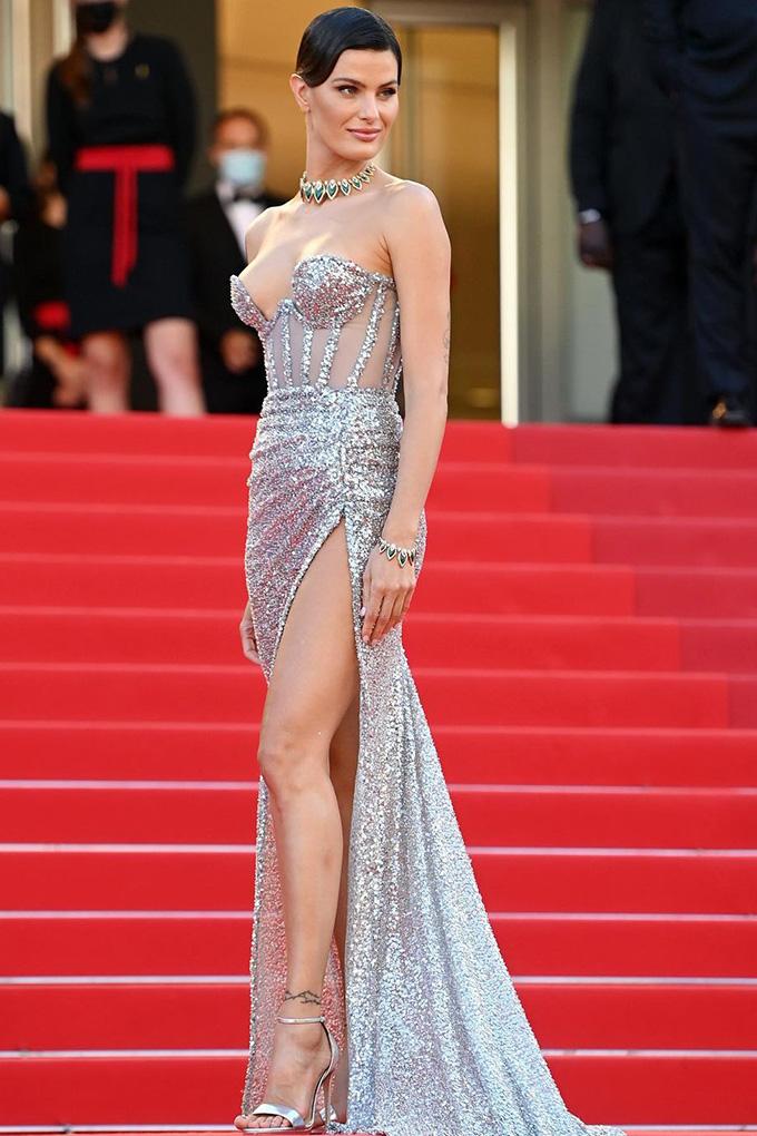 Isabeli Fontana in Rami Kadi at Cannes Film Festival 2021