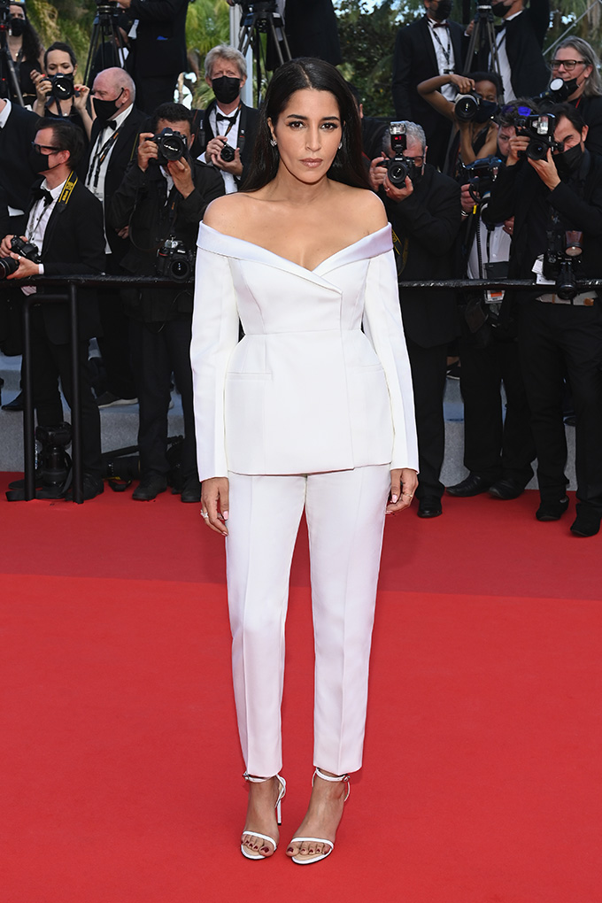 Leïla Bekhti in Givenchy at Cannes Film Festival 2021