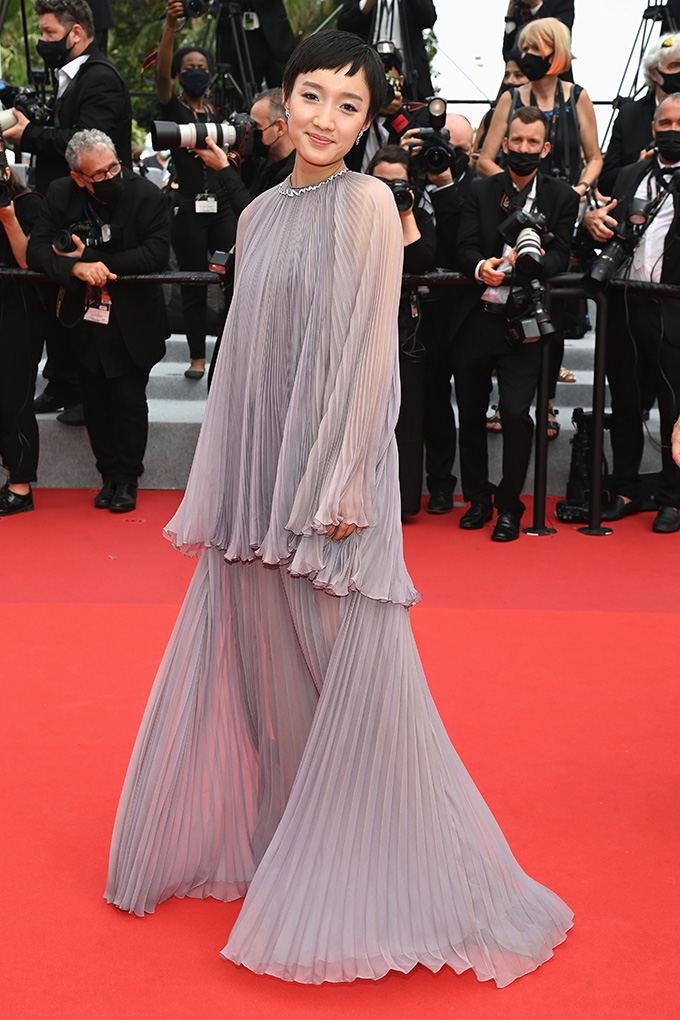 Huang Miyi in Christian Dior at Cannes Film Festival 2021