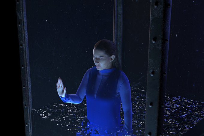 Marina Abramovic's artwork at VR Gallery: Hyperrealities