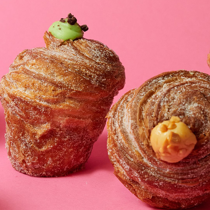 Cruffin from Mr. Holmes Bakehouse