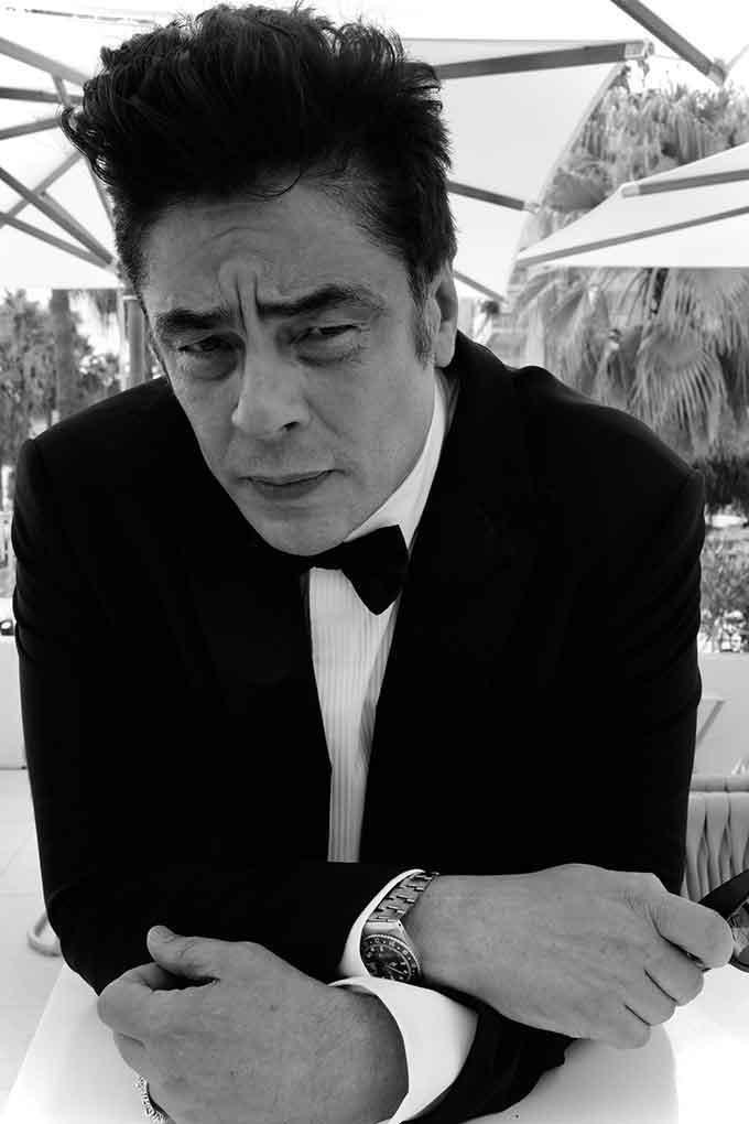 Benecio Del Toro Cannes