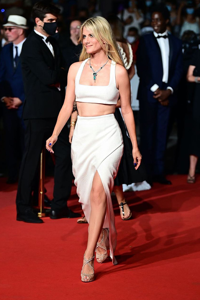 Melanie Laurent in Balmain at Cannes Film Festival 2021