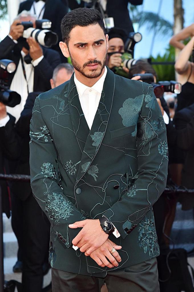 Alejandro Speitzer in Boss at Cannes Film Festival 2021